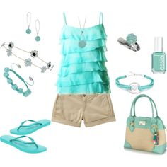 Mint is my fav color this summer