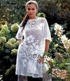 La túnica blanca de filete // Света Пророкова
