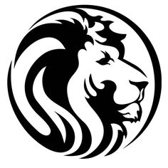 lion face vintage silhouette icon vector lion art pinterest rh pinterest com lion vectoriel gratuit lion vector freepik