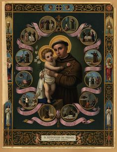 San Antonio de Padua - St Anthony of Padua
