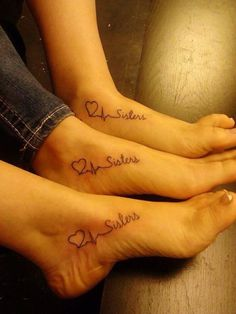 33 Sister tattoo ideas