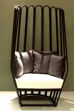 MALYA HIGH BACK Chair-Artistic Indonesia Rattan Armchair design by Alvin T