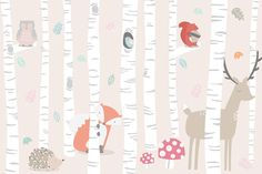 Introduce your child to some cute & playful critters with our exclusive Kids Woodland Scene Wall Mural. This adorable mural features a friendly fox, deer, owl, squirrel and hedgehog enjoying their woodland home which has been designed in soft pastel colours that can transform your baby's nursery or child's bedroom into a charming and stylish space. Since the...  Read more