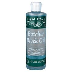 Buy Butcher Block Oil Pint, (saf) at Woodcraft.com