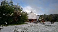 Bezoekerscentrum bij Ansen.