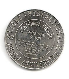 1968 For Peace And Justice Medal Medals Tokens Exonumia