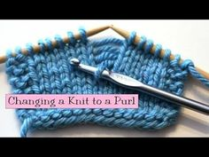 Change a knit to a purl. verypink.com