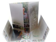 Altarfalz - Dankeskarten mit Laubherz