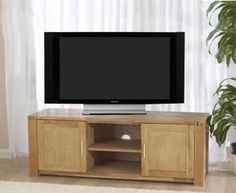 Verona Oak TV Unit