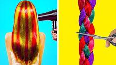 Cute Hairstyles, Braided Hairstyles, Hairstyle For Girls Video, Short Hair Styles Easy, Hair Tricks, Hair Dos, Hair Makeup, Hair Beauty, Hair Color