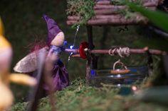 Delightfully Creative Nighttime Fairy Garden : Fairy Garden Contest Feature | Fairy Gardens