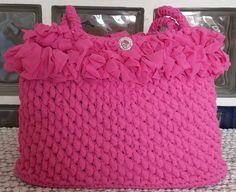 Shopping bag Alessia. Uncinetto. Crochet.