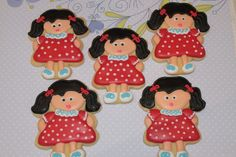 Girl cookies by Miss Biscuit