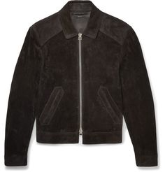 TOM FORD Slim-Fit Suede Jacket. #tomford #cloth #coats and jackets