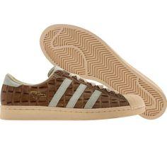 big sale 09b4b 12f01 Adidas Superstar Vintage (chalk2   bone   dark brown) Shoes 014305