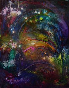 Abstract painting #40 by Ron Matzov.