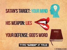 Watch your thoughts and the words that come out of your mouth... Speak only life over yourself with God's Word