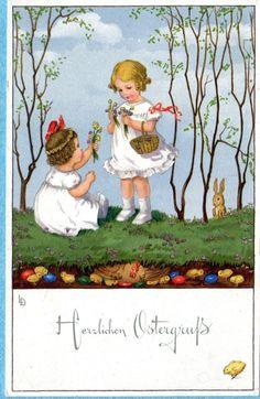 Lia Doring Easter postcard   eBay