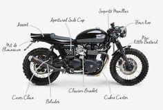 Eme black - Tamarit Motorcycles