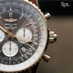 Hands-On with the Breitling Navitimer Rattrapante, an In-House Split-Seconds Chronograph