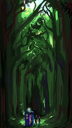 """The trees are not your enemy, they're your shield."""