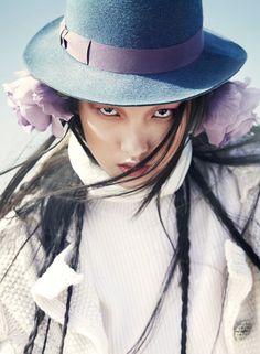 Yuan Bo Chao by Trunk Xu for Vogue China December 2014