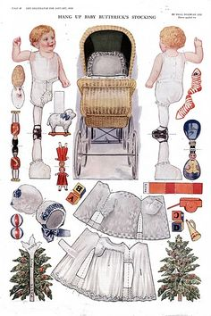 BABY BUTTERICK'S STOCKING