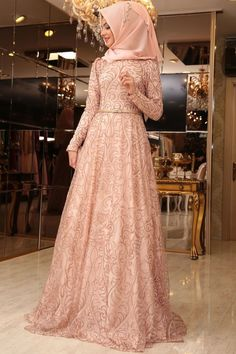 Best Beautiful Party Dress Model Ideas for You to Try - Fashions Nowadays Party hijab styles Abaya Fashion, Muslim Fashion, Modest Fashion, Fashion Dresses, Beautiful Party Dresses, Cute Dresses For Party, Muslim Wedding Dresses, Muslim Dress, Party Dresses For Teenagers