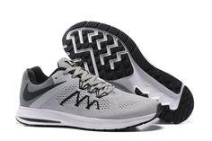sports shoes 16286 246b3 ... cheap nike zoom winflo 3 mens running shoe gray black 88 68f5a 965f3