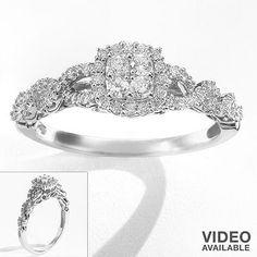 Vera Wang engagement ring love collection