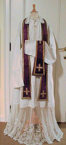 Stole (vestment) - Wikipedia, the free encyclopedia