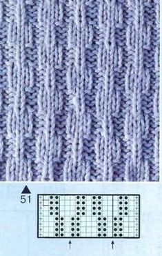 Simple stitch but very effective Knitting Charts, Easy Knitting, Loom Knitting, Knitting Stitches, Knitting Designs, Knitting Socks, Knitting Projects, Stitch Patterns, Knitting Patterns