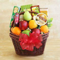 California Fruit Gift Basket Deluxe