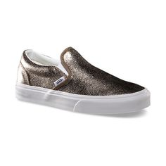 Metallic Slip-On ($60) via Polyvore