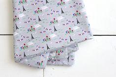 Tissu Vue sur la tour Eiffel ©Fifi Mandirac pour Atelier Brunette