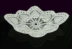 This is a glass bowl, actually crocheted with glass filaments.