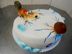 Scrat the saber tooth squirrel cake