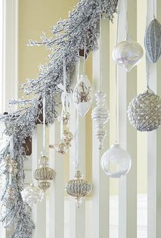 Un hiver étincelant, d'argent | Canadian Tire http://www.canadiantire.ca/inspiration/fr/seasonal/christmas/canvas/the-season-shines-with-silver.html