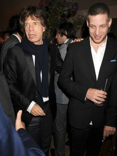 Mick and James Jagger - Guess who my rockstar father is ...