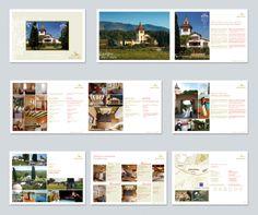 Catálogo para una finca que se dedica a la celebración de eventos.