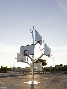 Árbol de canastas de A/LTA Architects en Nantes, Francia