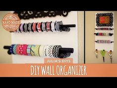 DIY Wall Organizer - HGTV Handmade - YouTube