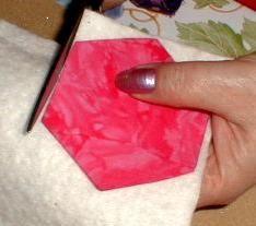 jardin de grand'mère express Point Invisible, English Paper Piecing, Patches, Quilts, Orange, Cubes, Dressmaking, Art, Sandpaper