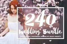 The Best Wedding Photoshop Actions by BeArt-Presets on @creativemarket