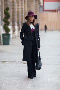 chic de la chic.  Paris Street Style Fall 2013 - Paris Fashion Week Style Fall 2013 - Harper's BAZAAR