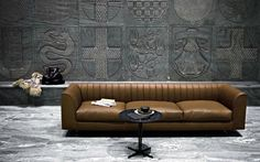 Tips That Help You Get The Best Leather Sofa Deal. Leather sofas and leather couch sets are available in a diversity of colors and styles. A leather couch is the ideal way to improve a space's design and th Leather Furniture, Sofa Furniture, Sofa Chair, Sofa Set, Luxury Furniture, Modern Furniture, Sectional Sofa, Couches, Round Sectional