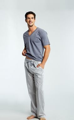 Burberry Check Pajama Set - Men's PJ pants are comfier and usually ...
