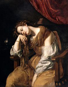 "Artemisia Gentileschi, ""La Magdalena"", Catedral de Sevilla"