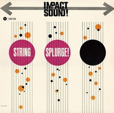 String Splurge album cover from 1962 (via Project Thirty Three)