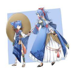 Được nhúng Touken Ranbu Characters, Anime Characters, Blue Hair Anime Boy, Cartoon Design, Character Design References, Anime Style, Me Me Me Anime, Vocaloid, Cute Pictures